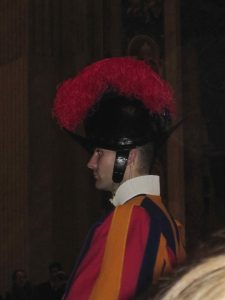 Swiss Guard, Christmas Eve at St. Peter's, Rome