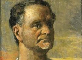 Portrait of Leonida Repaci by Giorgio De Chirico