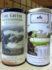 "Earl Greyer and Downton Abbey's ""Estate Blend"" by the Republic of Tea"