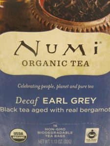 Numi Earl Grey Decaf Tea