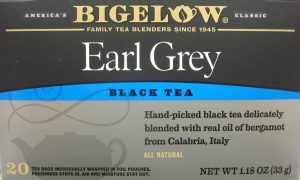 Bigelow's Earl Grey Tea with real bergamot oil from Calabria