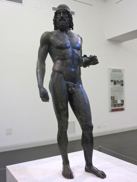 ancient Greek bronze