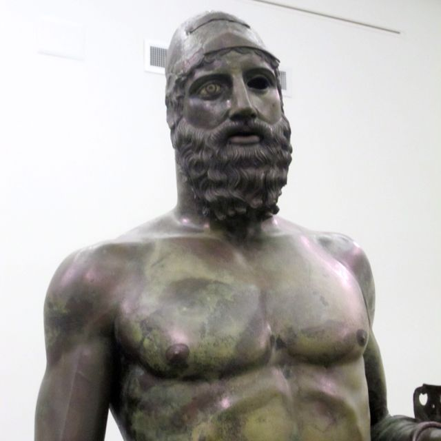 ancient bronze sculpture