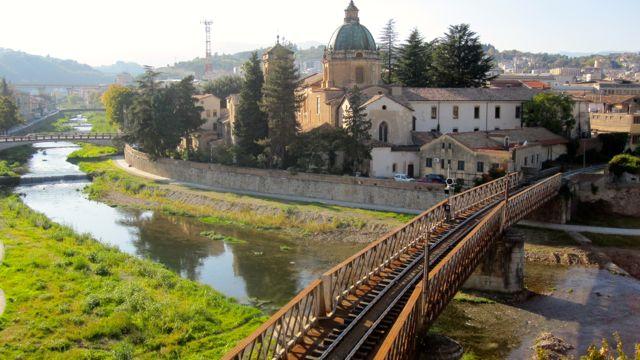 Busento River, Cosenza, Calabria