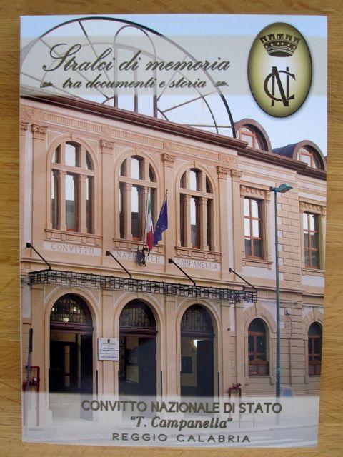"""History Book of the Convitto Nazionale di Stato """"T. Campanella"""" - Italian High School"""