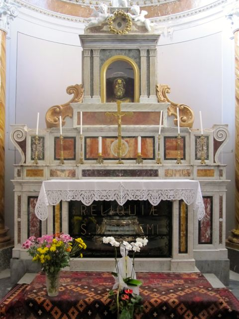 Nicodemus Chapel in Mother Church, Mammola
