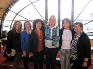 With the teachers at Liceo Classcio Europeo, Italian High School in Reggio Calabira