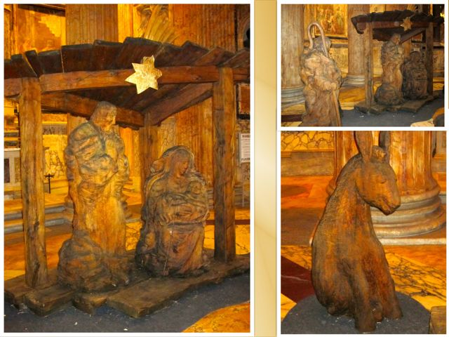 Life-size Manger in the Pantheon