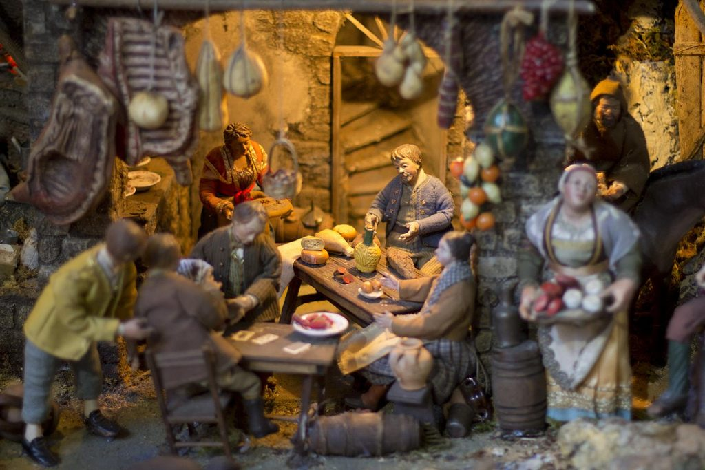 Detail of Neapolitan Nativity in Sorrento, photo by Gustavo Oliveira