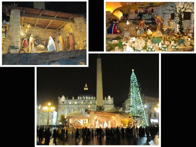 Nativity Scenes at St. Peter's in Rome