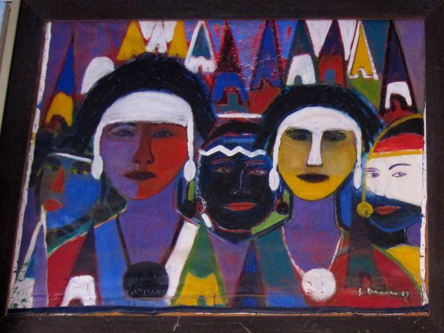 Native Americans by Salvatore Tonnara
