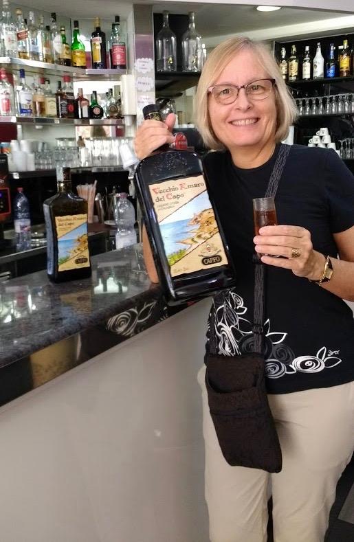 Italian bar, Karen Haid