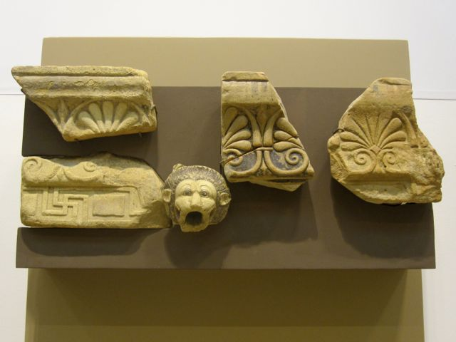 Architectural Elements in Monasterace Museum