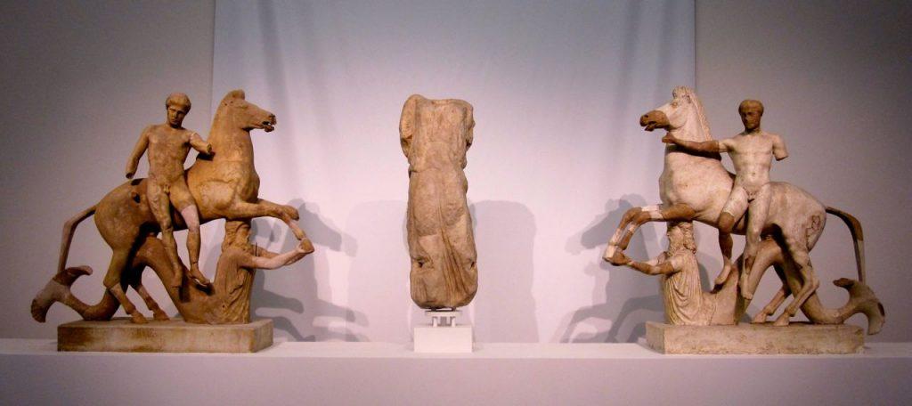 Dioscuri, Monasterace Museum post