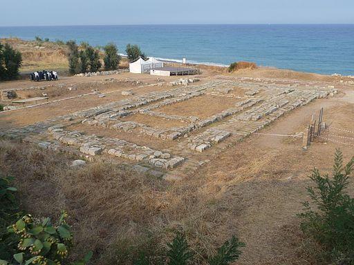 Temple in Caulonia