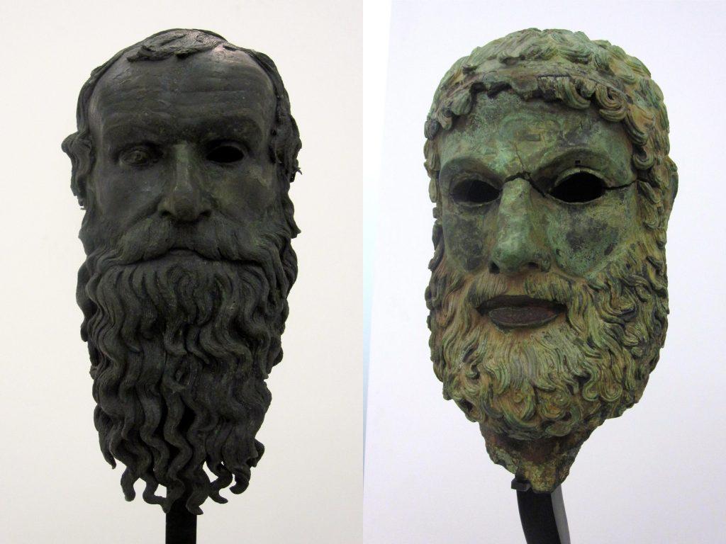 Greek bronzes, found in Cannitello, Villa San Giovanni