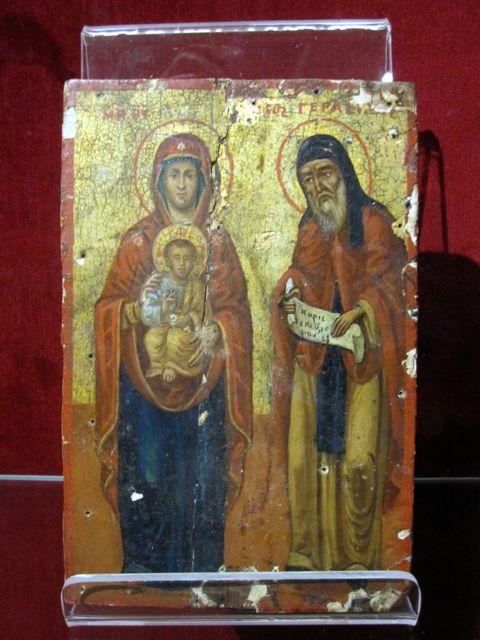 Calabria icon, Museo San Paolo, Reggio Calabria