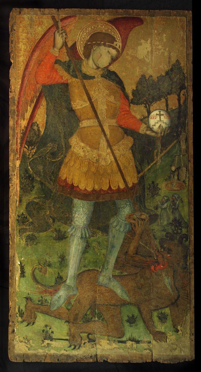St. Michael, Museo San Paolo, Calabria