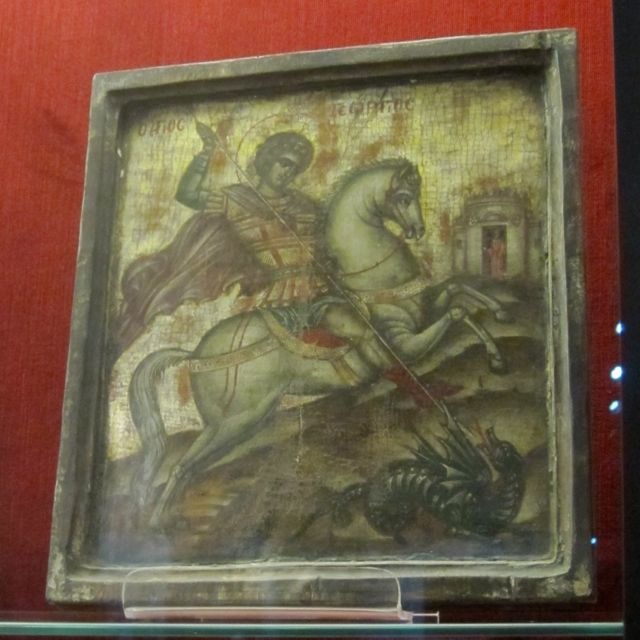 St. George icon, Museo San Paolo, Reggo