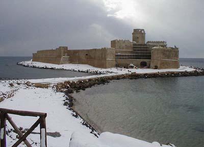 Le Castella Castle, Visit Calabria