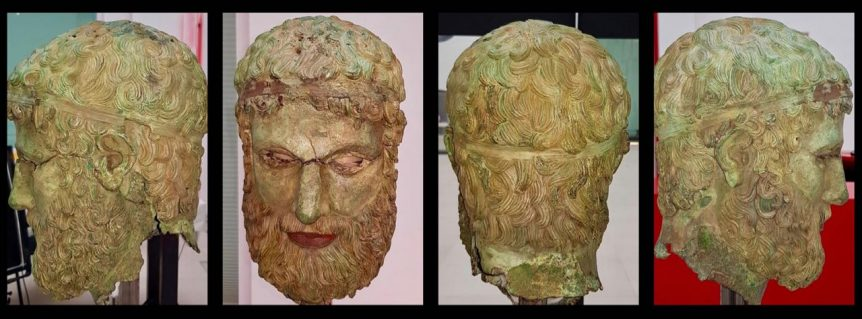 Head of Basilea, art restoration