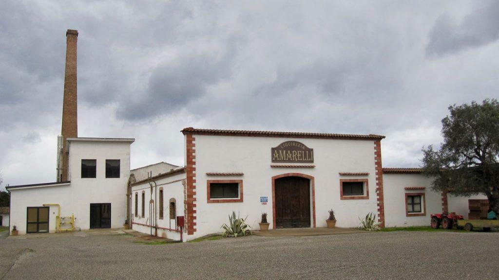 Amarelli factory