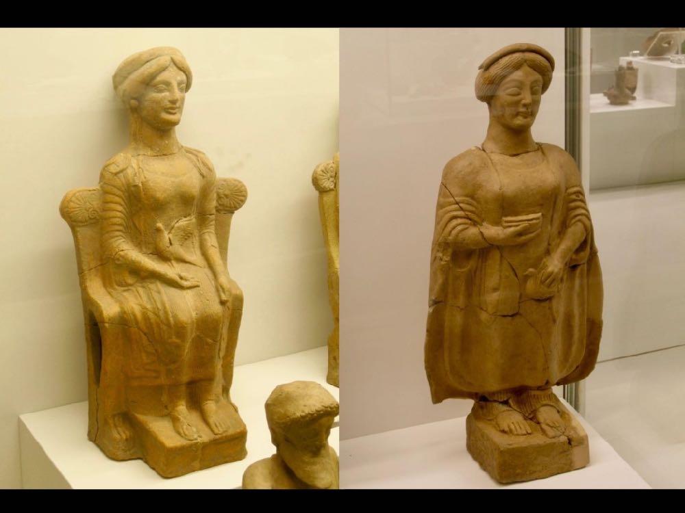 ancient terracotta figures