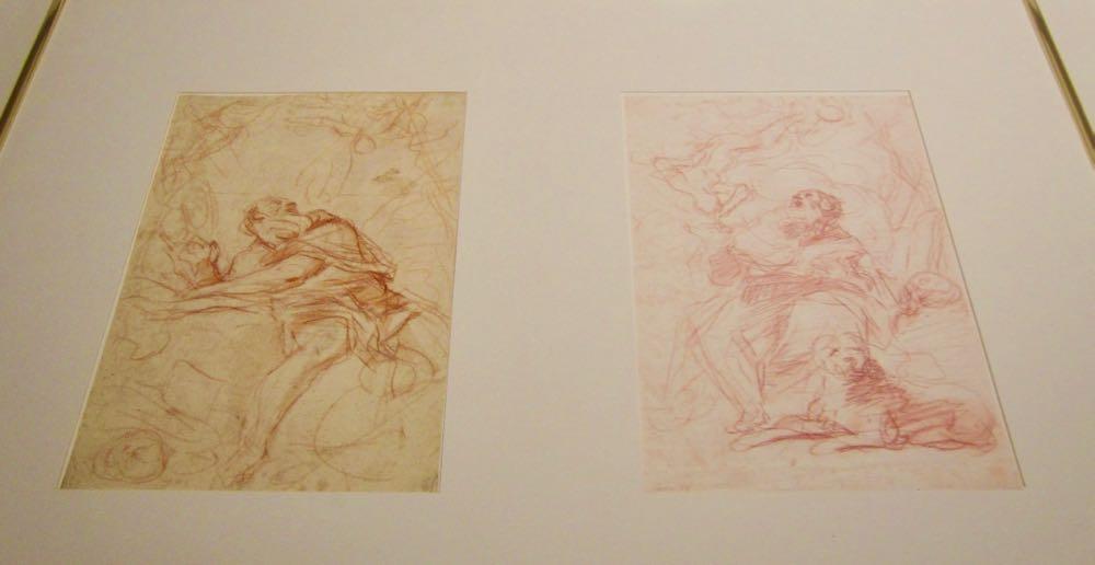 Mattia Preti drawings