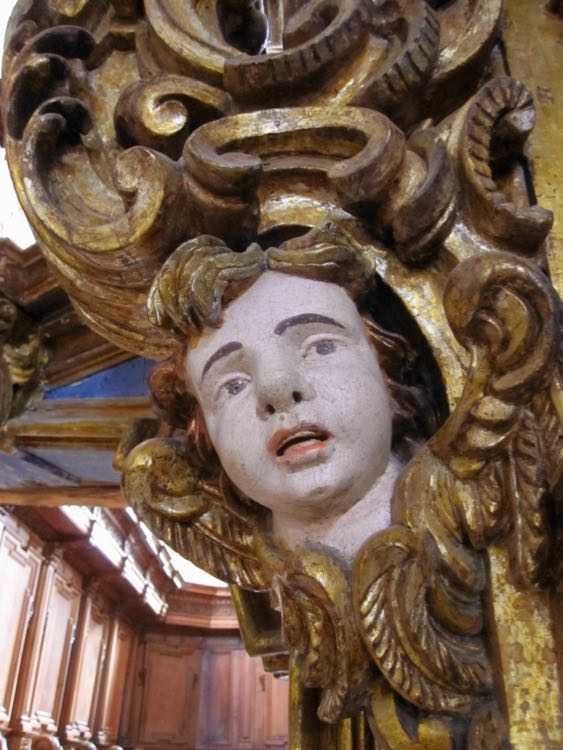 Italian Baroque cherub