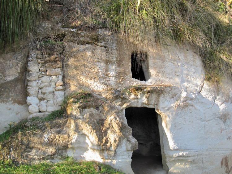 Italian cave house