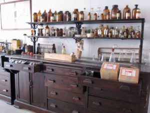 Historic bergamot lab