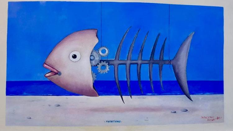 surreal fish