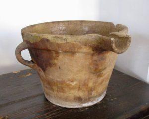 bergamot ceramic container
