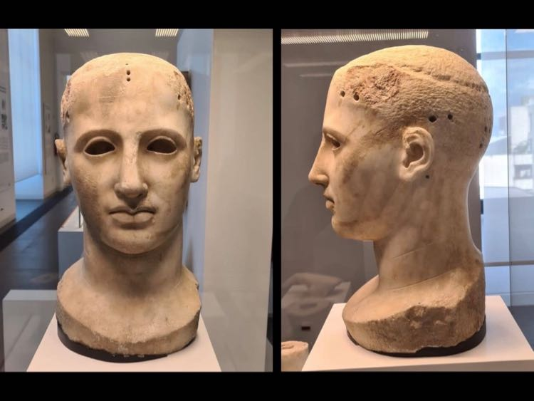 Greek marble sculpture