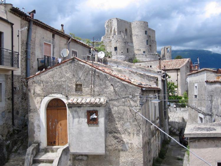 old town Morano Calabro