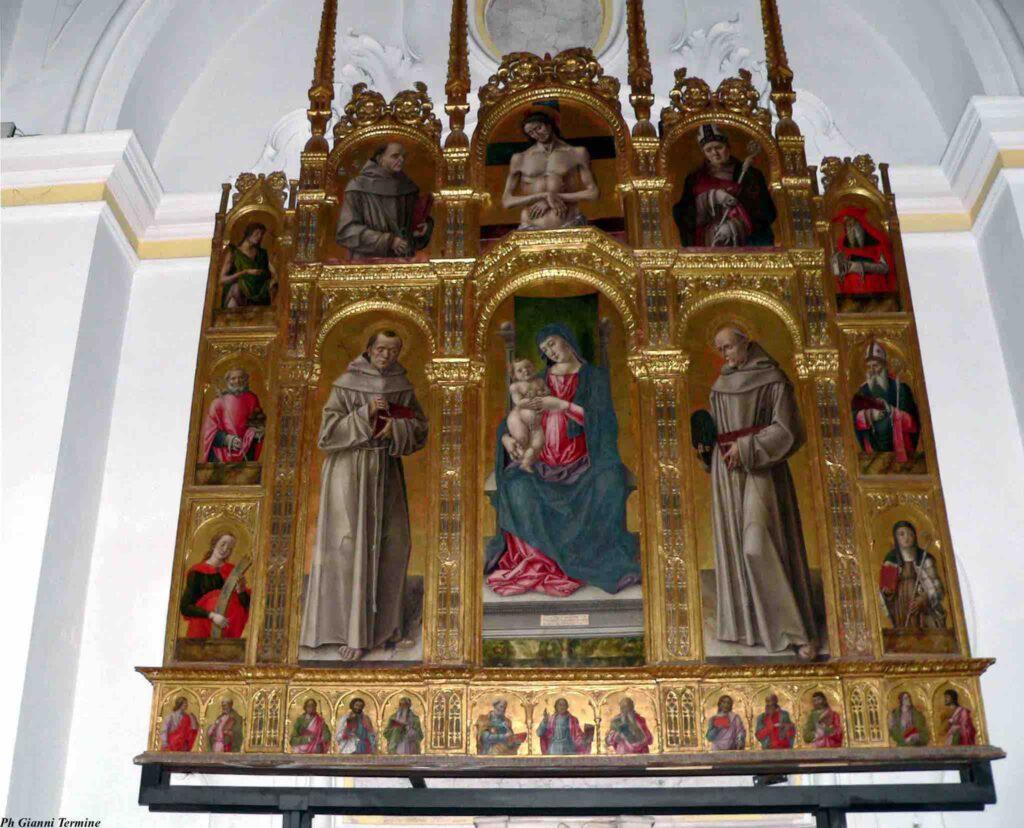 church art in Morano Calabro