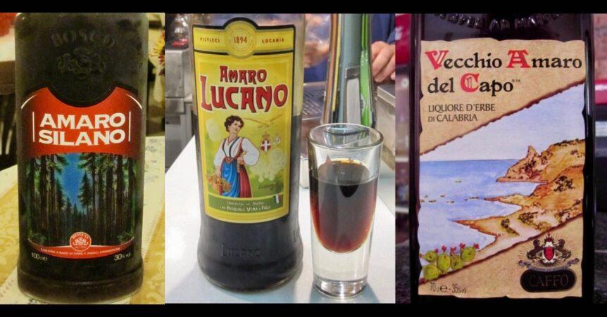 Amaro Silano, Amaro Lucano, Vecchio Amaro del Capo