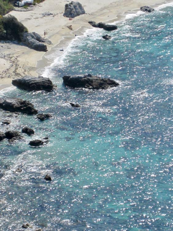 Calabria beach